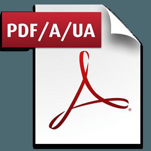 PDF/UA logo