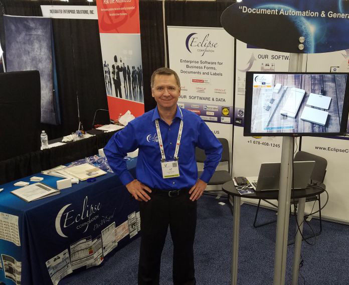 Eclipse Corp.'s Jeff Gary at Collaborate 18