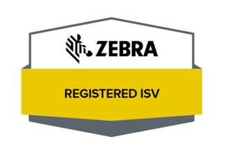 Zebra Registered ISV logo