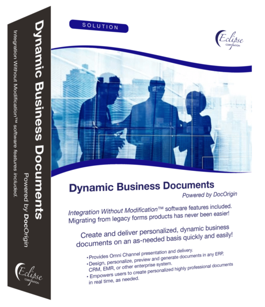 dynamic business documents software box
