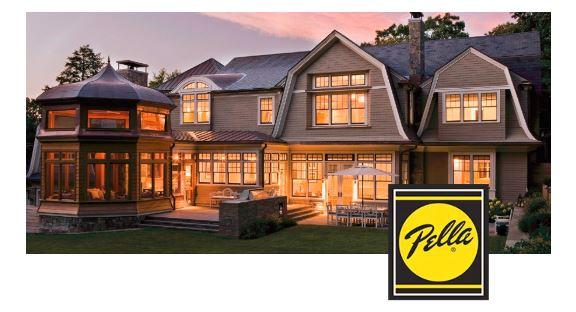 Pella Windows and Doors photo and logo