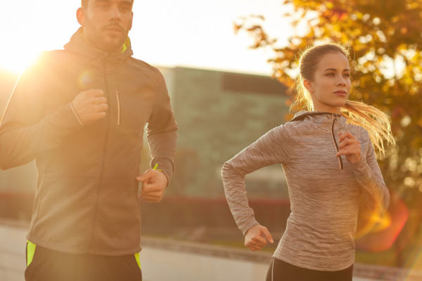get fit image of people running