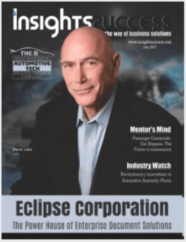 Insights Magazine's cover featuring Eclipse CEO Steve Luke