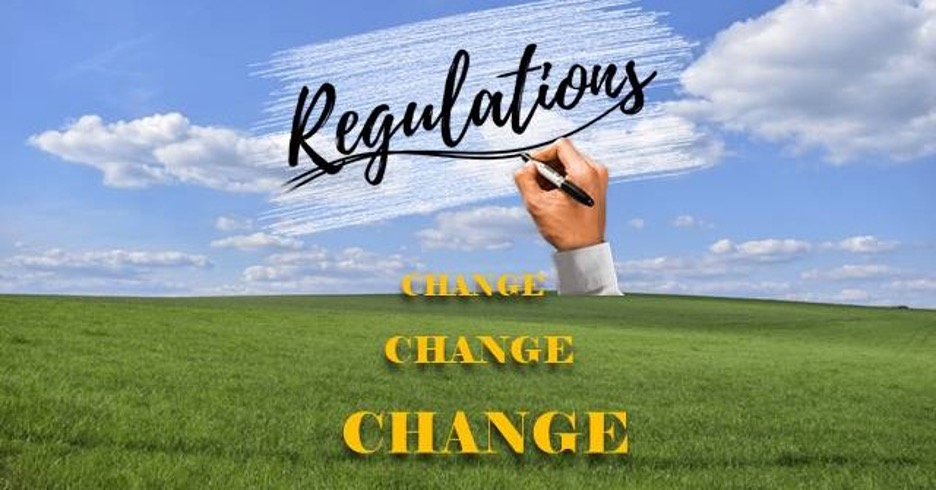 Ugh! The Regulations Changed – Again!